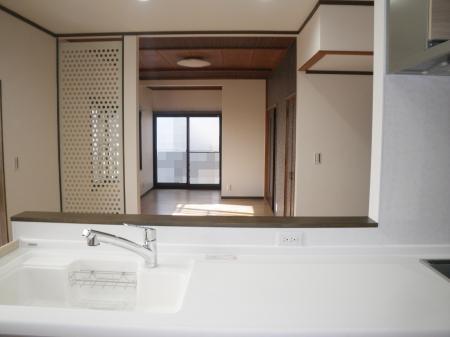 クリナップ「ラクエラ」を採用したキッチンほかリフォーム 大垣市赤坂町S様邸