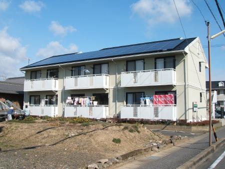 大垣市 アパート太陽光発電 G様