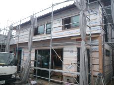 外壁の板金工事