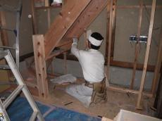 階段を製作