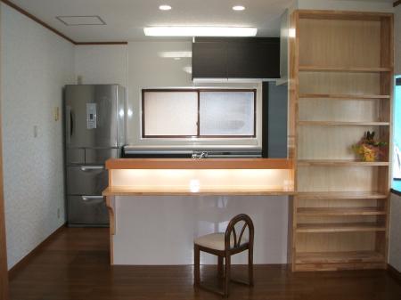 池田町 キッチンリフォーム+オール電化 F様邸
