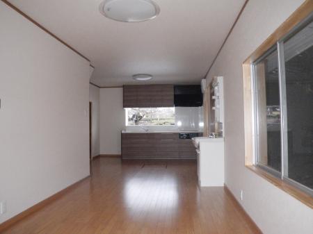 池田町 LDK・屋根瓦・外壁塗装ほかリフォーム K様邸