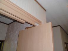 トイレドアはこのように収まります
