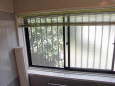 施工前の浴室の窓
