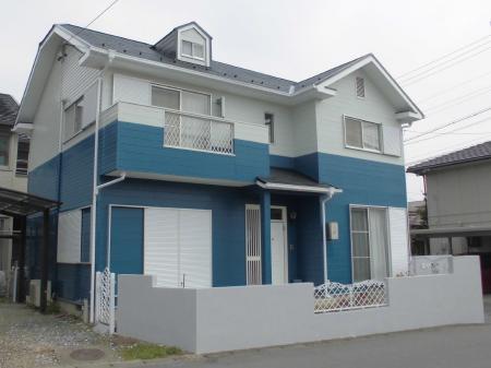 屋根・外壁塗装された大垣市笠木町K様邸