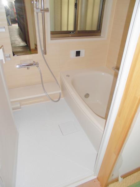 F様邸浴室リフォーム完成