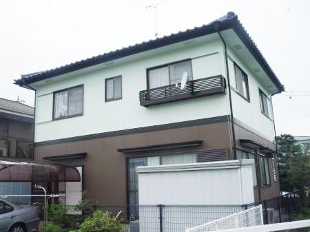 大垣市  外壁塗装 社長・大内自宅