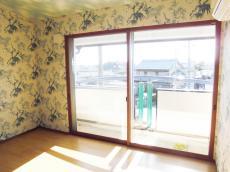 寝室二重窓