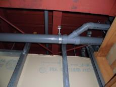 床下排水配管