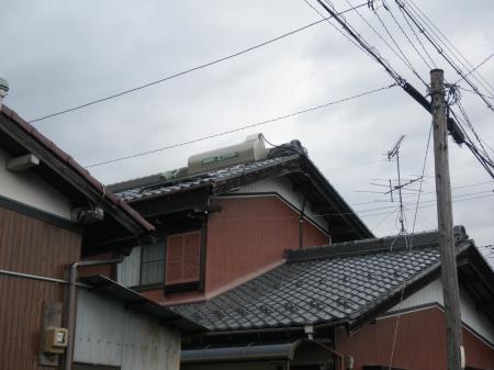 池田町 太陽熱温水器取替 K様邸