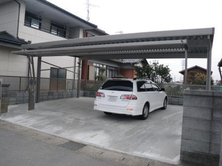大垣市 駐車場新設工事 割田Y様邸