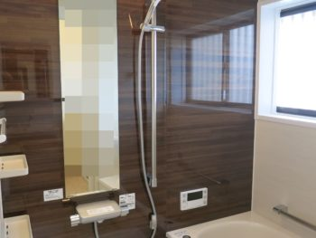 音楽を聴きながら快適なバスタイムに♪ 大垣市綾野Y様邸浴室・洗面所事例